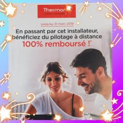 NOTRE SERVICE VISIBLE SUR LE SITE THERMOR.FR + OFFRE EXCLUSIVE JUSQU'AU 31.03.19