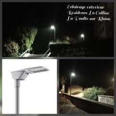 Eclairage extérieur d'une résidence - La Voulte sur Rhône (07800)